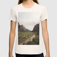 The Virgin River Womens Fitted Tee Natural SMALL