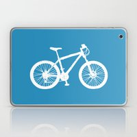 Mountain Bike Blue Laptop & iPad Skin