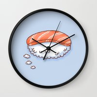 Sushi Dream Wall Clock