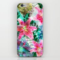 Jungle Lilies iPhone & iPod Skin