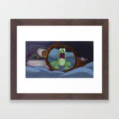 Surprised Framed Art Print