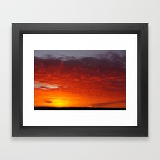 New Dawn, New Day, New Era Framed Art Print