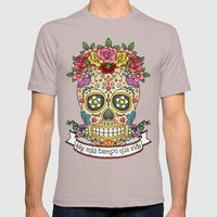 There Is More Time Than … Mens Fitted Tee Cinder SMALL