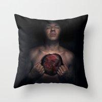 Voulez-vous Coucher Avec… Throw Pillow