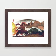 Avatar State Framed Art Print