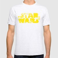 StarWars  Mens Fitted Tee Ash Grey SMALL
