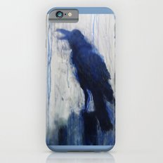 Contemporary Blue Raven Weather Abstract Painting Slim Case iPhone 6s