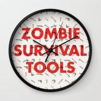 Zombie Survival Tools - … Wall Clock