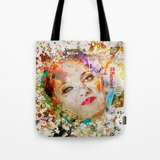 Retro Woman Tote Bag