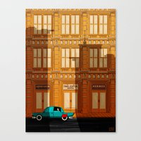 Hey Superhero!! Canvas Print