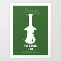 breaking bad Art Prints featuring Breaking Bad by Oli Phillips