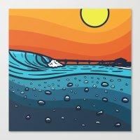 Pierside Canvas Print