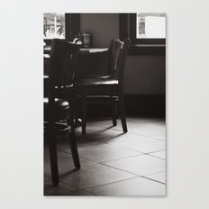 Please be Seated Canvas Print
