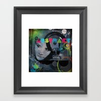 Abstract Vision Framed Art Print