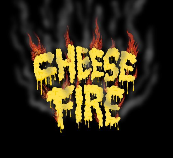 CHEESE FIRE!!! Canvas Print