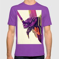 Eva 01 Mens Fitted Tee Ultraviolet SMALL
