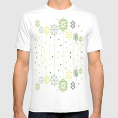 Holidays Deco SMALL Mens Fitted Tee White