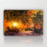 Laptop & iPad Skin featuring The Little Island by Nicky2342