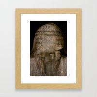 Haunted  Framed Art Print