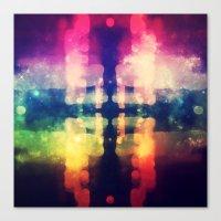Bokeh Prism  Canvas Print