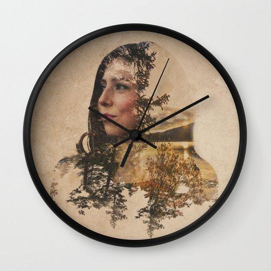 Take Me Away Wall Clock