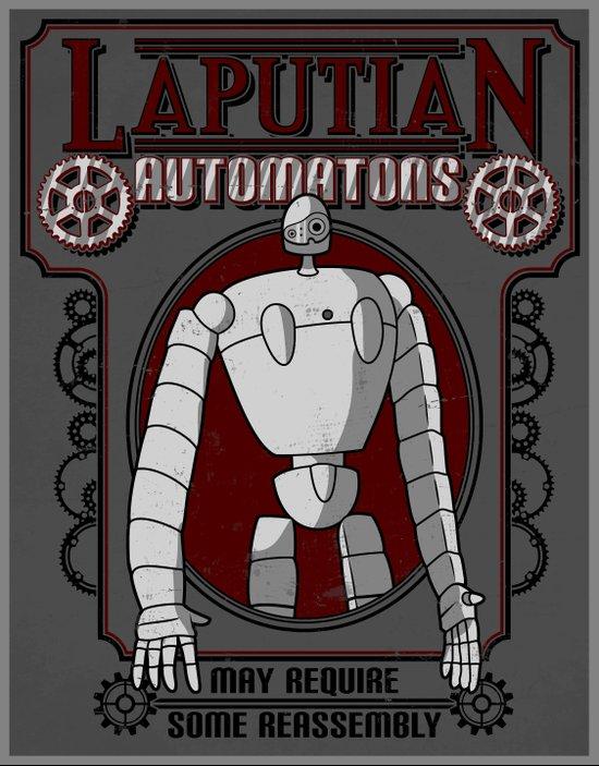Laputian Automatons Art Print