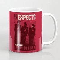 Nobody expects them! Mug