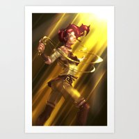 The Last Keeper of the Word Art Print
