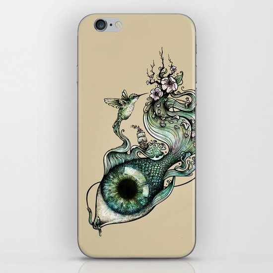 Flowing Inspiration iPhone & iPod Skin