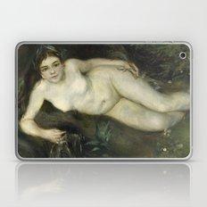 A Nymph by a Stream by Pierre-Auguste Renoir Laptop & iPad Skin