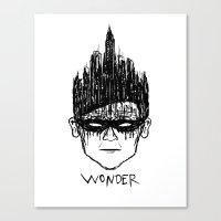 Robin, Boy Of Wonder Canvas Print