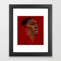 Damian Lillard Framed Art Print