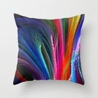 Spectral Magic Throw Pillow