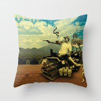 Hunter S Throw Pillow