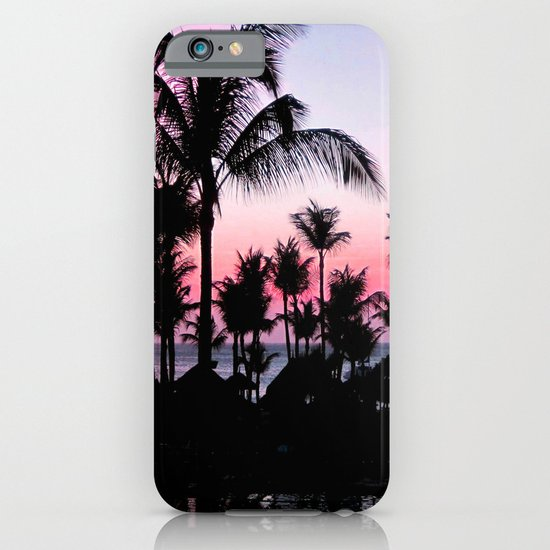 Pink Sunset iPhone & iPod Case