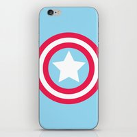America Pastel iPhone & iPod Skin