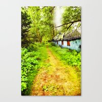 Woodsman's Cottage Canvas Print