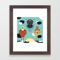 Sky Warden Framed Art Print