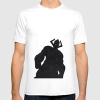 Marvel's Galactus Mens Fitted Tee White SMALL