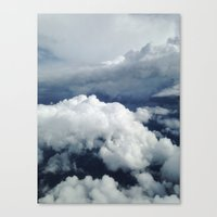 East Coast Cumulus Canvas Print