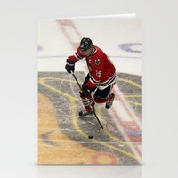 Jonathan Toews // Chicag… Stationery Cards