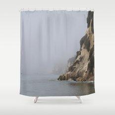 morning ocean Shower Curtain