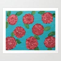 Great Balls Of Flower Art Print