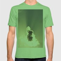 Looking Up Mens Fitted Tee Grass SMALL