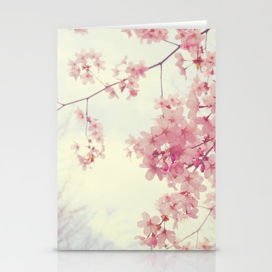 Dreams In Pink Stationery Card