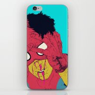 iPhone & iPod Skin featuring Thudd! by Boneface