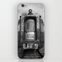 Silver Streak iPhone & iPod Skin