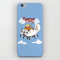 Airbender Time iPhone & iPod Skin
