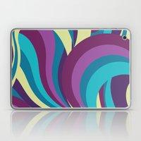 Misty Sapphire Laptop & iPad Skin