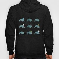 The Many Hats Of Narwhal… Hoody
